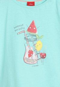 s.Oliver - T-shirt print - mint - 3