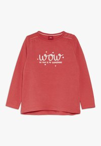 s.Oliver - Long sleeved top - red - 0