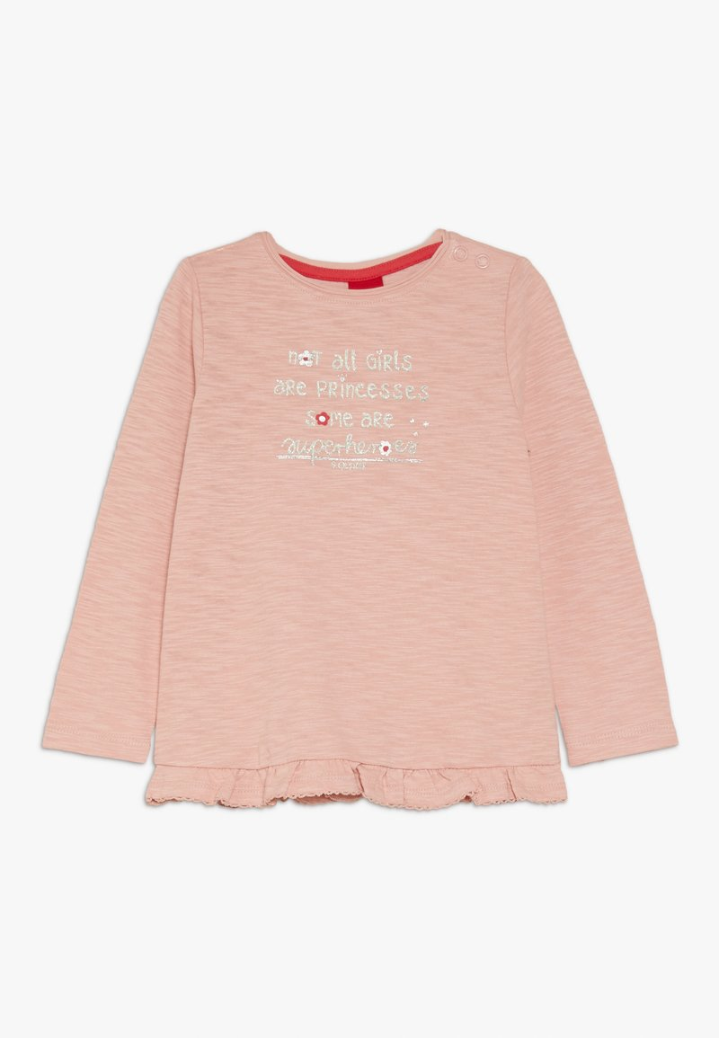 s.Oliver - Long sleeved top - dusty pink