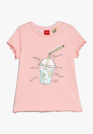 KURZARM - T-shirt print - rose