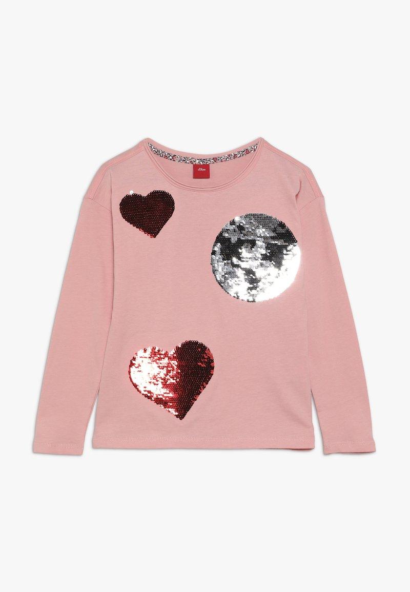 s.Oliver - Långärmad tröja - light pink