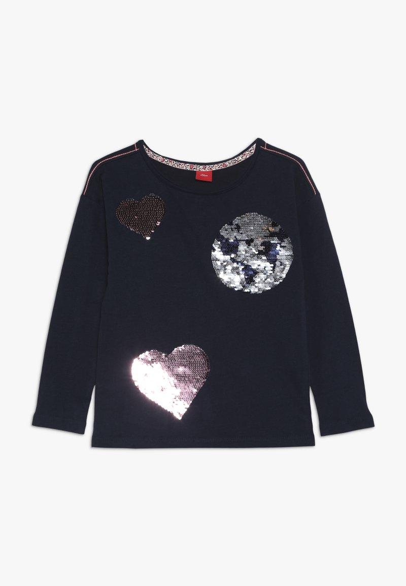 s.Oliver - Långärmad tröja - dark blue