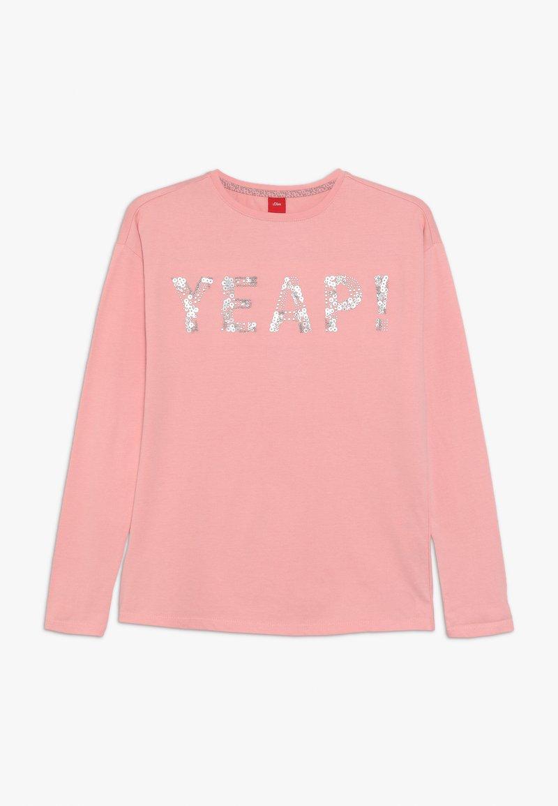 s.Oliver - Langærmede T-shirts - light pink