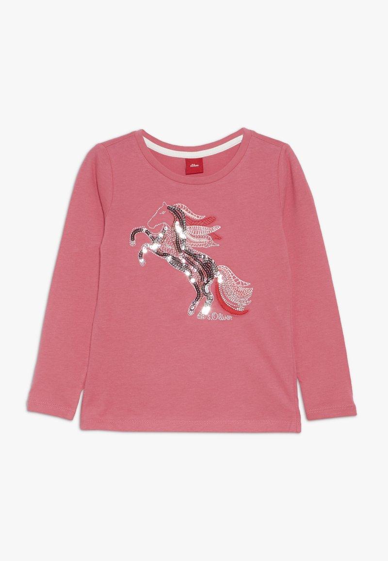 s.Oliver - Långärmad tröja - pink