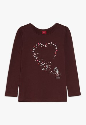 LANGARM - Långärmad tröja - berry