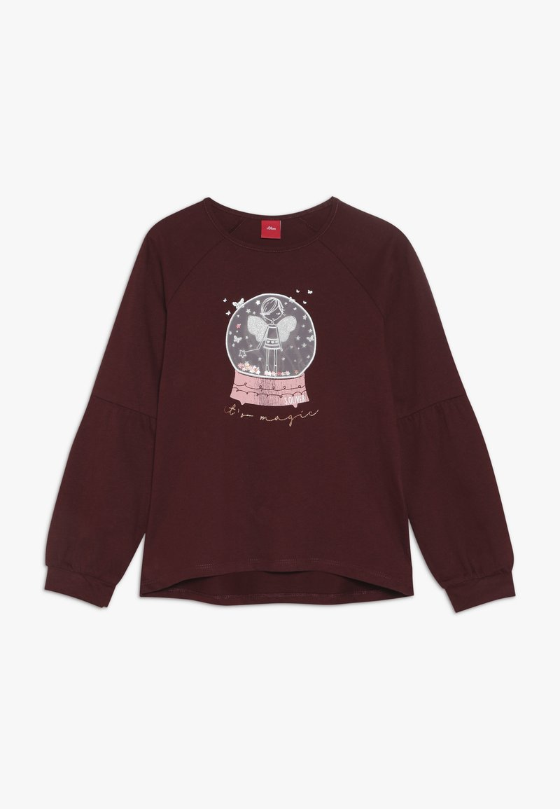 s.Oliver - Long sleeved top - berry