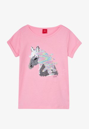 KURZARM - Camiseta estampada - light pink