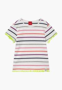 s.Oliver - KURZARM - T-shirt imprimé - white - 0