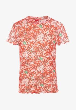 KURZARM - T-shirt print - chinese red
