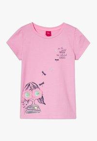 s.Oliver - KURZARM - Print T-shirt - pink - 0