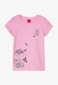 s.Oliver - KURZARM - T-shirt con stampa - pink - 3