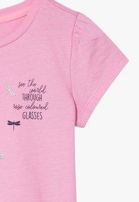 s.Oliver - KURZARM - Print T-shirt - pink - 4