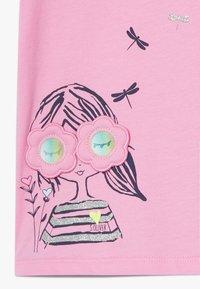 s.Oliver - KURZARM - Print T-shirt - pink - 2