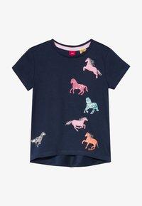 s.Oliver - KURZARM - T-shirt con stampa - dark blue - 2