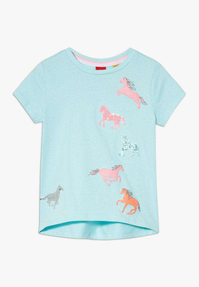 KURZARM - T-shirt print - light mint
