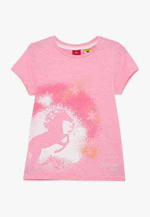 KURZARM - T-shirt con stampa - pink