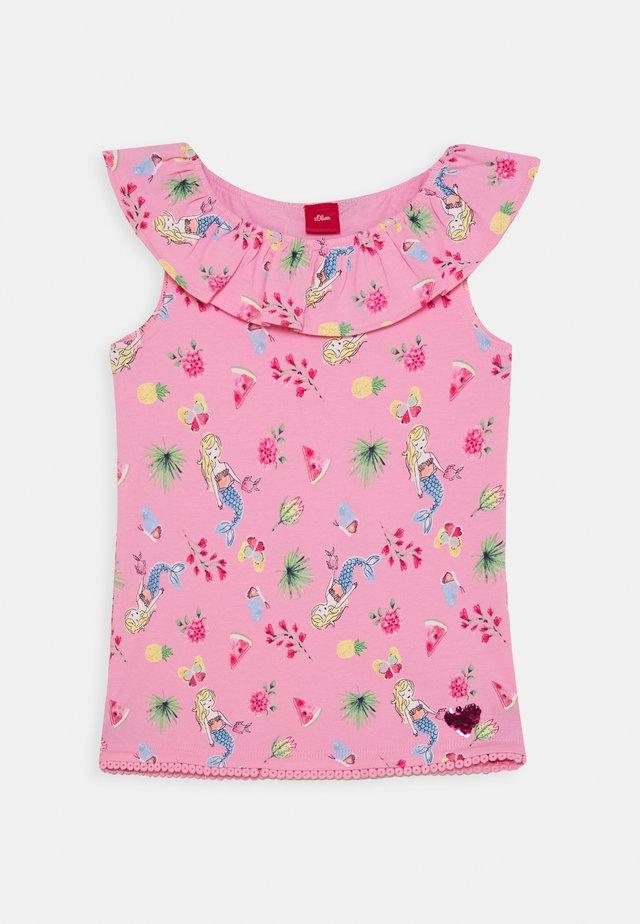 KURZARM - T-shirt print - pink
