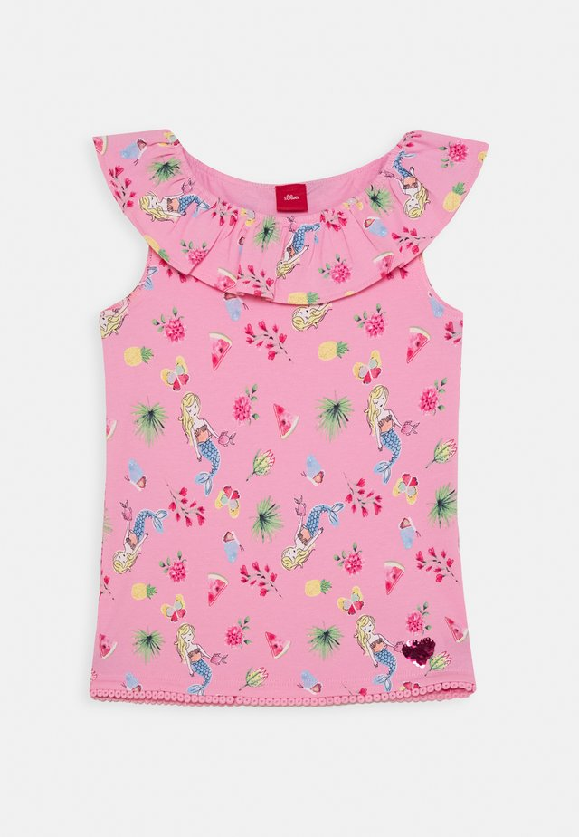 KURZARM - T-shirt con stampa - pink