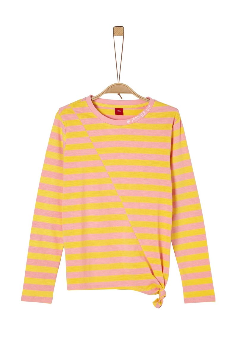 s.Oliver - Long sleeved top - yellow stripes