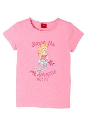 MIT MERMAID-MOTIV - Print T-shirt - pink