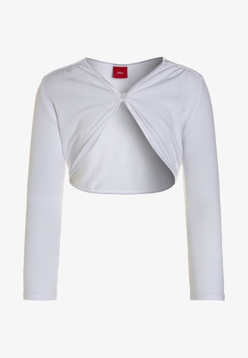 s.Oliver - BOLERO REGULAR FIT - Vest - white