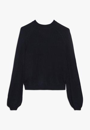 LANGARM - Stickad tröja - dark blue