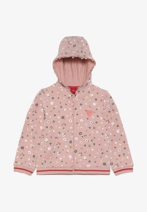 Zip-up hoodie - dusty pink
