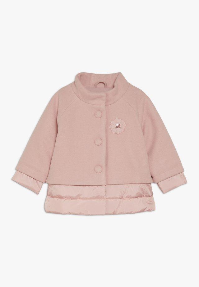Winterjas - dusty pink