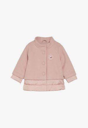 Zimní bunda - dusty pink