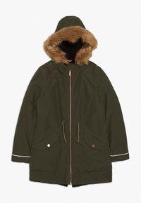 s.Oliver - MANTEL - Abrigo de invierno - khaki - 0