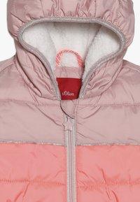 s.Oliver - Zimní bunda - dusty pink - 3