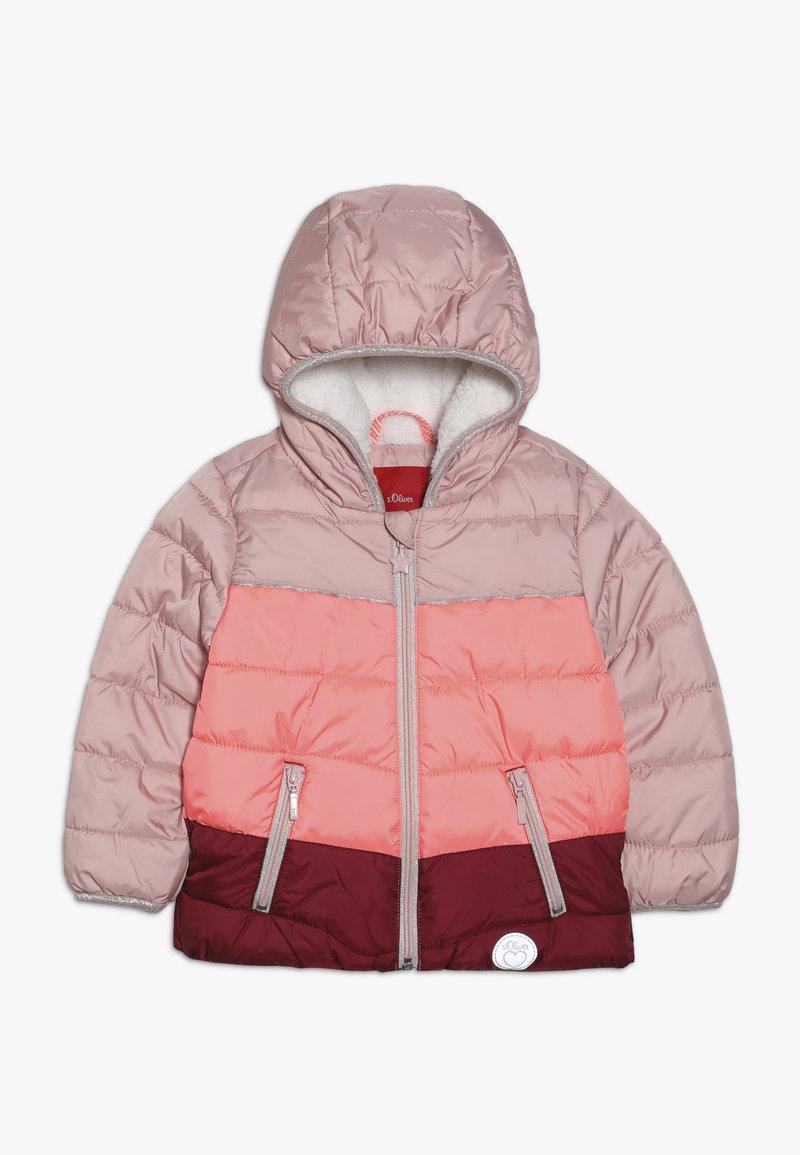 s.Oliver - Zimní bunda - dusty pink