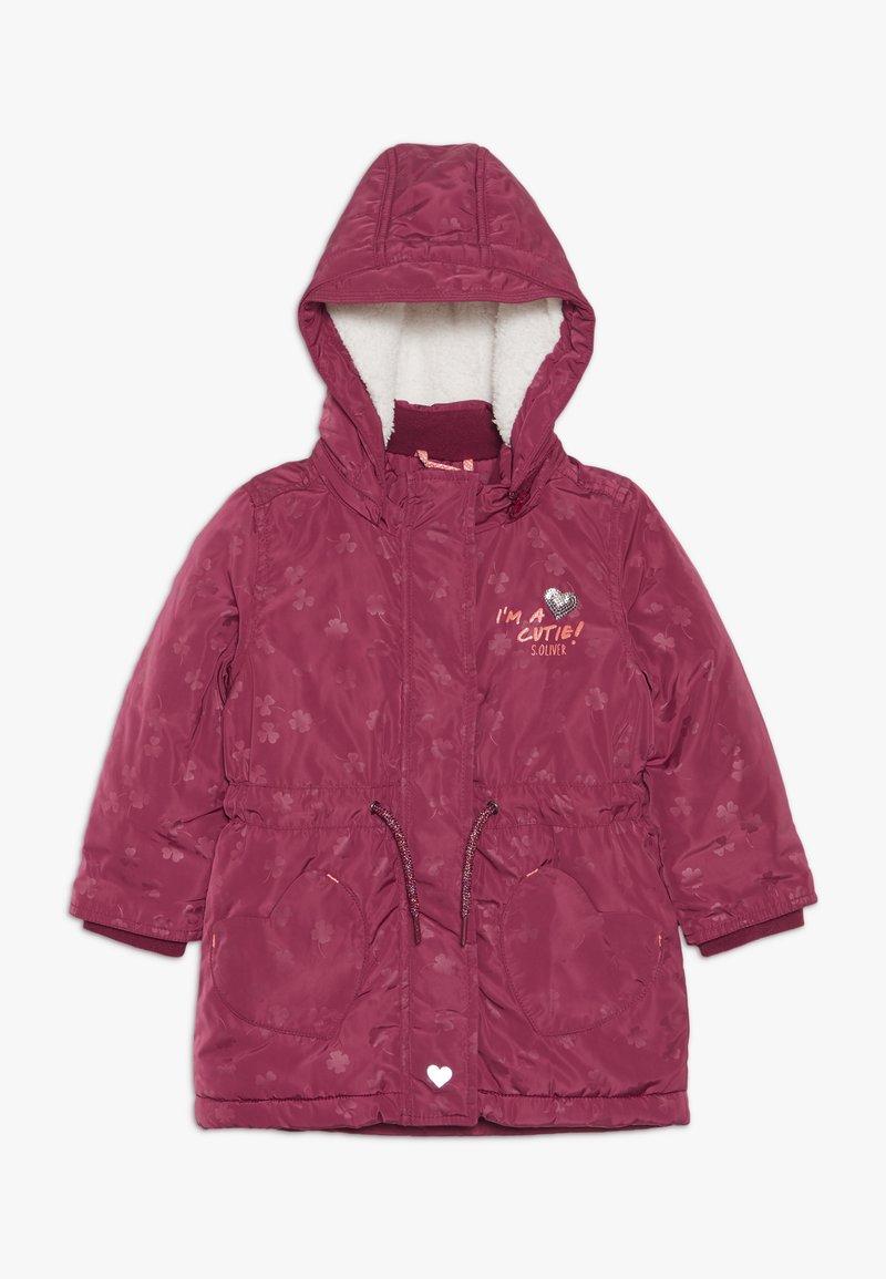 s.Oliver - Winter coat - dark red