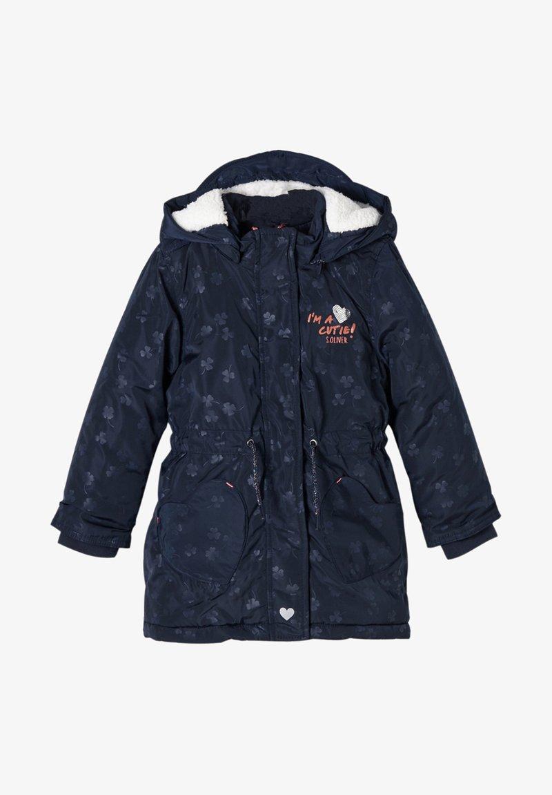 s.Oliver - Winter coat - navy aop