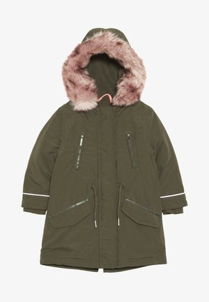 MANTEL - Winter coat - green