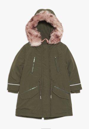 MANTEL - Winter coat - green