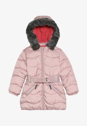Płaszcz zimowy - dusty pink