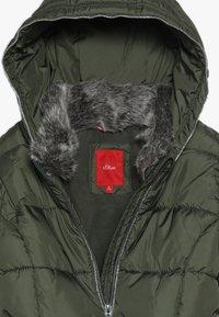 s.Oliver - Zimní kabát - khaki - 3