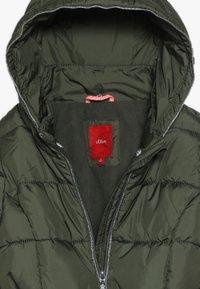 s.Oliver - Zimní kabát - khaki - 5