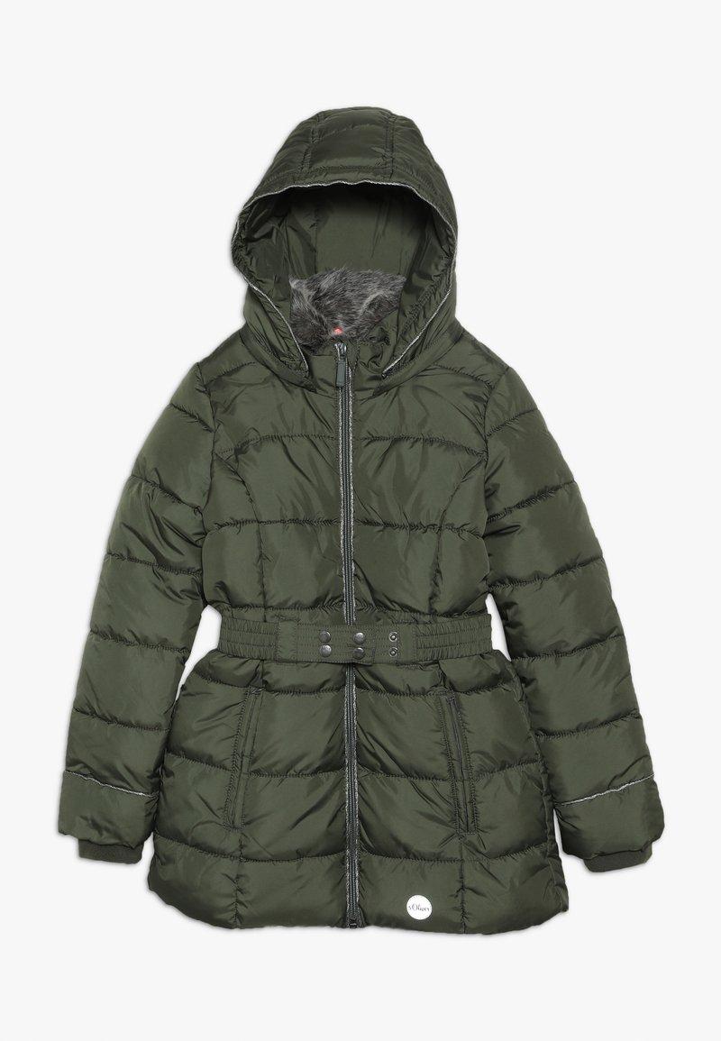 s.Oliver - Zimní kabát - khaki