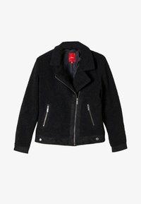 s.Oliver - Faux leather jacket - black - 0