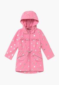 s.Oliver - MANTEL LANGARM - Waterproof jacket - purple/pink - 0