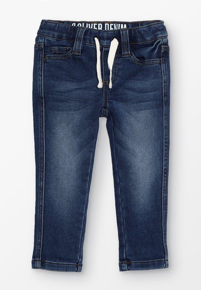 HOSE - Jeans Skinny Fit - blue denim