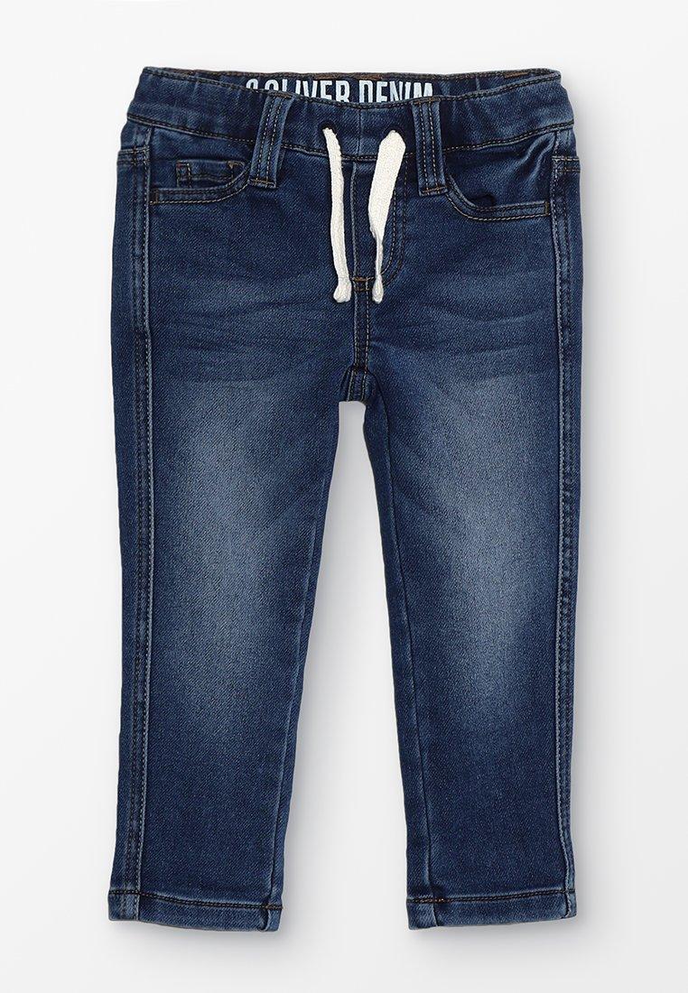 s.Oliver - HOSE - Skinny džíny - blue denim