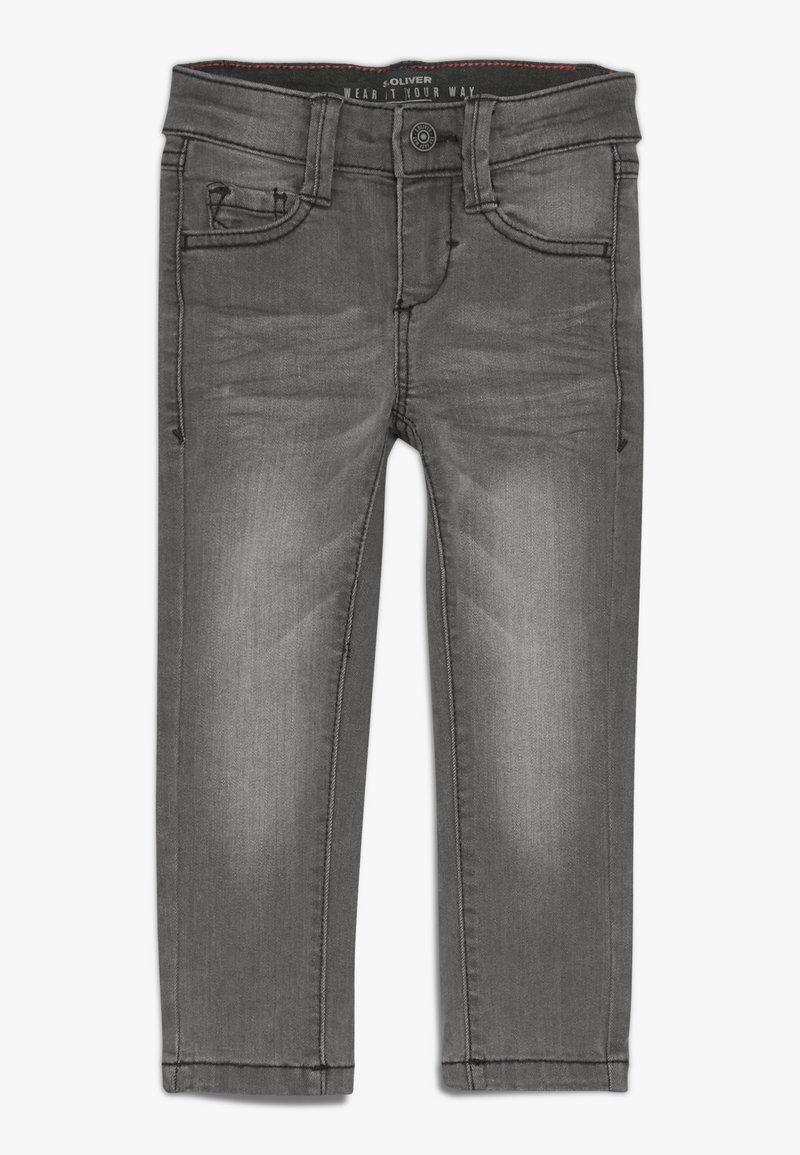 s.Oliver - Jeans Skinny Fit - grey/black denim