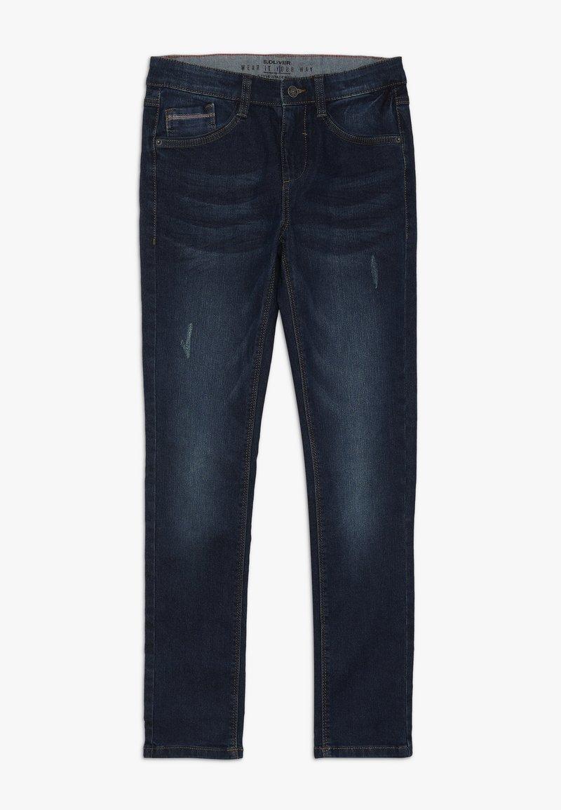 s.Oliver - Jeans Slim Fit - dark blue denim
