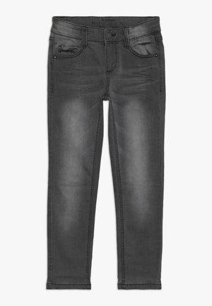 Jeansy Slim Fit - grey/black denim