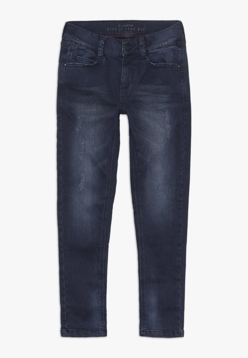 s.Oliver - Stoffhose - blue denim