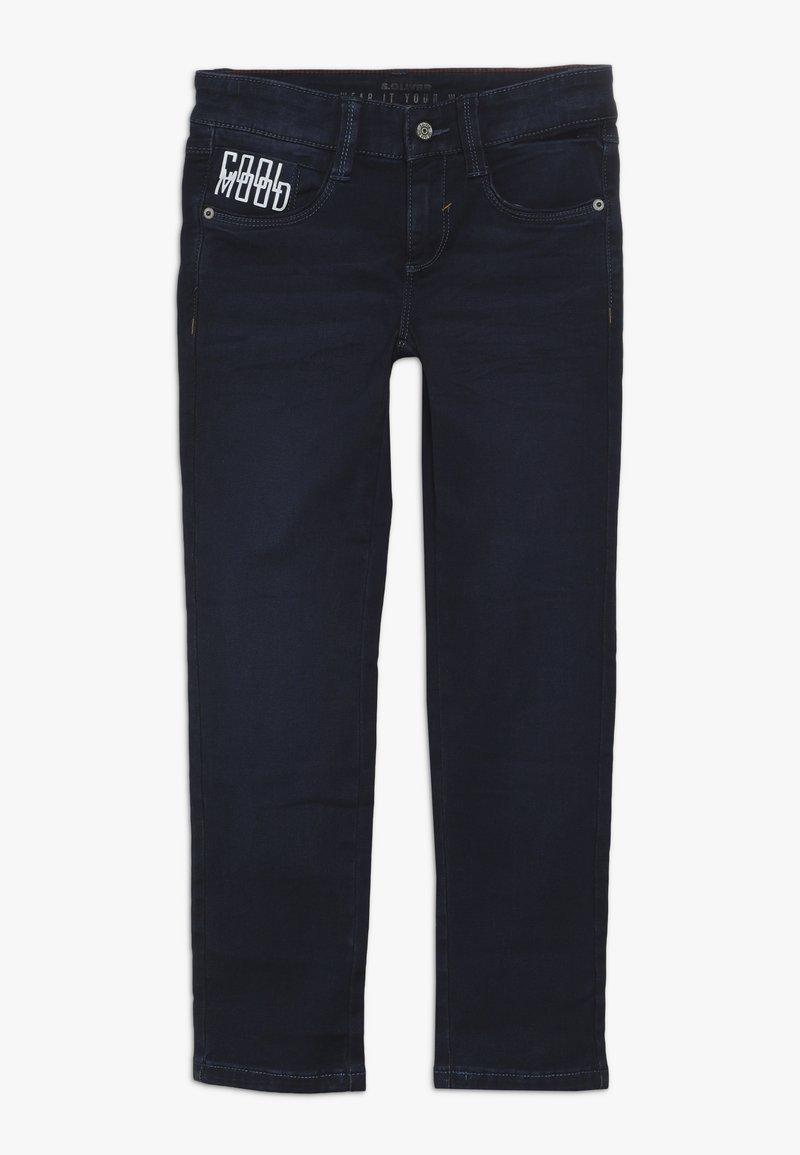 s.Oliver - Jeans Slim Fit - blue denim stretch