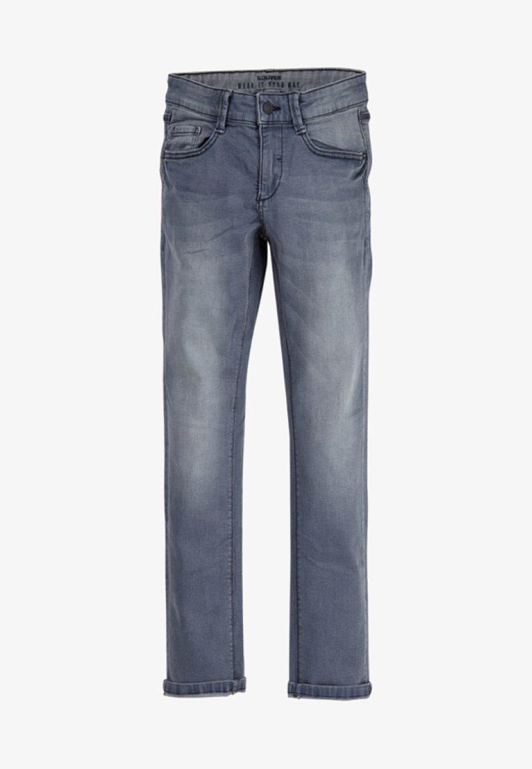 s.Oliver - Jeans Skinny Fit - grey/blue denim